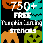 750+ FREE Pumpkin Carving Stencils (Disney, Star Wars, Angry Birds, Celebrities and more!)