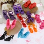 Amazon: 10 Pairs Doll Barbie Shoes Sandals Only $1.84 + FREE Shipping!