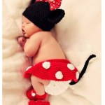 *HOT* Baby Girl Crochet Minnie Mouse 4 Pc Outfit Only $8.62 + FREE Shipping!