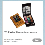 *HOT* FREE Wink!Wink! Eye Shadow Make-Up Kit (500 Openings)