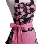 Amazon: Flirty Apron's Midnight Bloom Apron Only $21.99 (Reg. $39.95)
