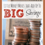 List of SIMPLE Money Saving Tips that Add up to BIG Savings