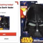 *HOT* Target: 50% off Star Wars Darth Vader Voice Changer Helmet = Only $11.99 (Reg. $30!)