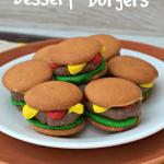 Dessert Burgers for April Fools Day
