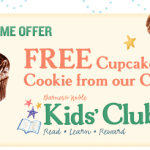 Barnes & Noble: FREE Cupcake on Kid's Birthday!