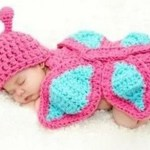 *HOT* Baby Girl's 0-12 Month Butterfly Knit Crochet Only $5.74 + FREE Shipping!