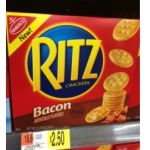 Ritz Bacon Flavored Crackers Only $2.00 at Walmart