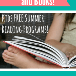 Kids FREE Summer Reading Programs (Earn FREE Prizes and Books!)