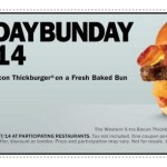 Carl's Jr: Buy 1 Get 1 FREE Western X-tra Bacon Thickburger Coupon (TODAY Only!)