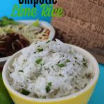 Copycat Chipotle Lime Rice