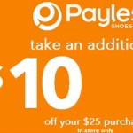 *HOT* Payless ShoeSource: $10 off a $25 Purchase Coupon + 30% off Entire Purchase