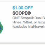 Scope Dual Blast Only $0.50 each at Walgreens (Beginning 4/20)!