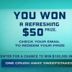 Instantly Win a $25 or $50 Mastercard! (20,000 Winners!)