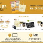 Jergens Golden Life Sweepstakes: Enter to win 1 of 130 Natural Glow Prize Packs