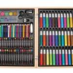 131-Piece Portable Art Studio Deluxe Art Set With Wood Case $15.67 (Reg. $39.99)