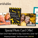 FREE Personalized Father's Day Card + FREE Shipping!