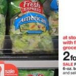 Target: Fresh Express Salad Blends Bags Only $1.50!