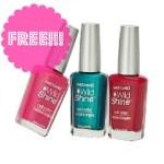 FREE Wet 'N Wild Nail Polish at Walmart!