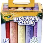 Amazon: Crayola Sidewalk Chalk 15 ct. Only $7.39 (Reg. $15.99)