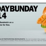 Carl's Jr Or Hardee's: Buy 1 Big Chicken Fillet Sandwich and Get 1 FREE Coupon (TODAY ONLY!)