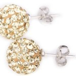 Crystal Ball Stud Earrings Only $2.29 Shipped