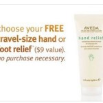 Aveda: FREE Hand or Foot Relief Cream ($9 value)! No Purchase Necessary – In-Store