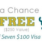 Enter to Win FREE Groceries for a Week ($250 value) or 1 of seven $100 Visa Gift Cards