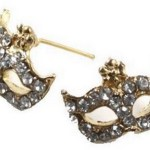 Amazon: Rhinestone Party Mask Earrings Only $0.89 Shipped
