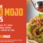 Qdoba Mexican Grill: Buy 1 Mango Mojo Entree and Get 1 FREE (Today Only)
