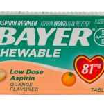 Walgreens: Bayer Aspirin Chewable Products Just $0.24 (Thru 7/19)