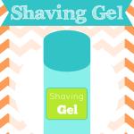 DIY Homemade Shaving Gel