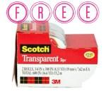 Free Scotch Tape at Target
