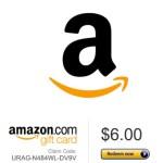 1 FREE Amazon Gift Card Code