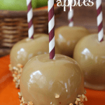 Cream Caramel Apples