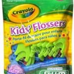 FREE Sunstar GUM Crayola Kid's Flossers