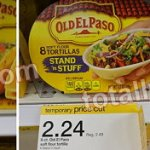 Target: Old El Paso Stand & Stuff Shells Only $0.39