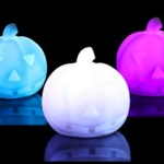 7 Color Changing LED Pumpkin Night Light Lamp ONLY $2.51 + FREE Shipping!