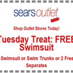 Sears Outlet Stores: FREE Swimsuit or Trunks (9/16 Only)