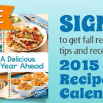 FREE 2015 Perdue Recipe Calendar (Full of Recipes and Tips)