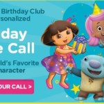 FREE Kids Birthday Call from Nick Jr. Characters!