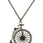 Amazon: Vintage Cute Antique Bronze Bicycle Necklace Only $3.18 Shipped