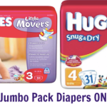 Rite Aid: Huggies Jumbo Pack Diapers Only $3.99 (Starting 9/14 – Print Coupons Now!)
