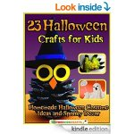 Amazon: FREE 23 Halloween Crafts for Kids: Homemade Halloween Costume Ideas and Spooky Decor eBook