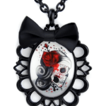 Amazon: Day of the Dead Skeleton Girl Necklace Only $14.12 Shipped