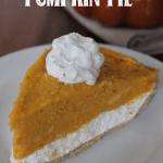 2 Layer No-Bake Pumpkin Pie