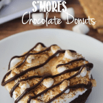 S'Mores Chocolate Donuts