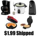 *HOT* Blender, Coffee Maker, Quesadilla Maker, Waffle Maker, Toaster and MORE ONLY $1.99 each Shipped (Reg. $39.99!)