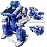Amazon: 3-in-1 Educational T3 Solar Transforming Robot Science Kit ONLY $5.95!