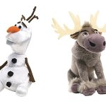 Amazon: Disney Frozen Olaf & Sven 8″ Talking Plush Set of 2 Only $26.99
