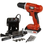 *HOT* Black & Decker 20-Volt MAX Lithium-Ion Drill/Driver with 30 Accessories ONLY $49.99 (Reg. $99)!